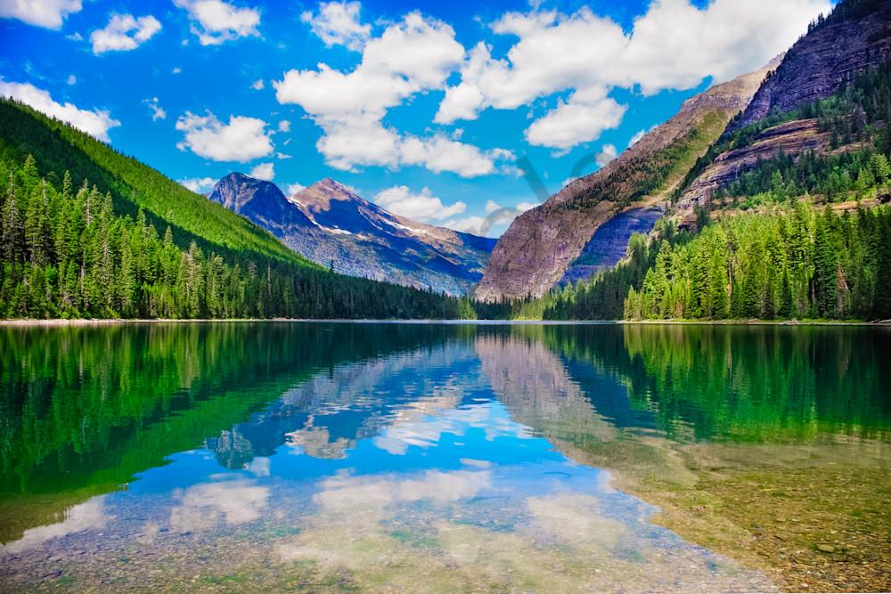 Avalanche Lake, Montana, USA