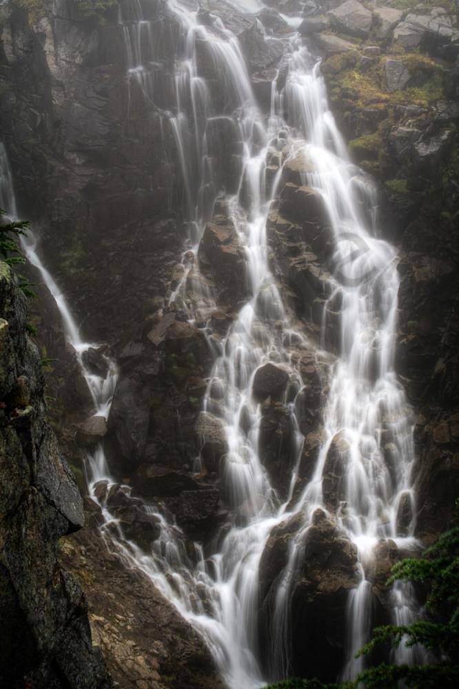 Myrtle Falls, Washington, USA