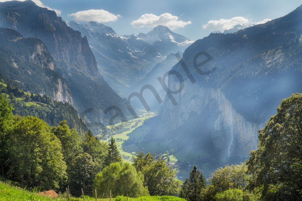 Lauterbrunnen Valley,  Bern, Switzerland