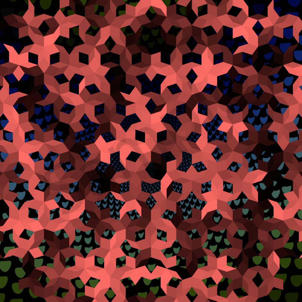 Pen rose algorithmic art | originals & Prints | BrillianceGallery.com Beautiful Vector Art by Peter McClard.