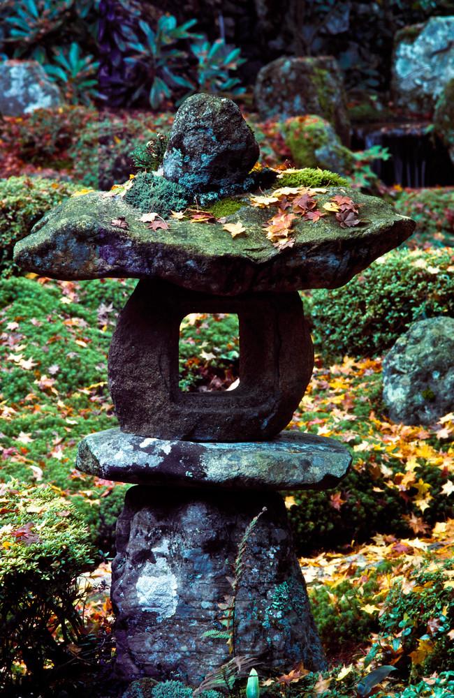 Stone lantern-Sanzen-in Temple gardens, Kyoto, Japan