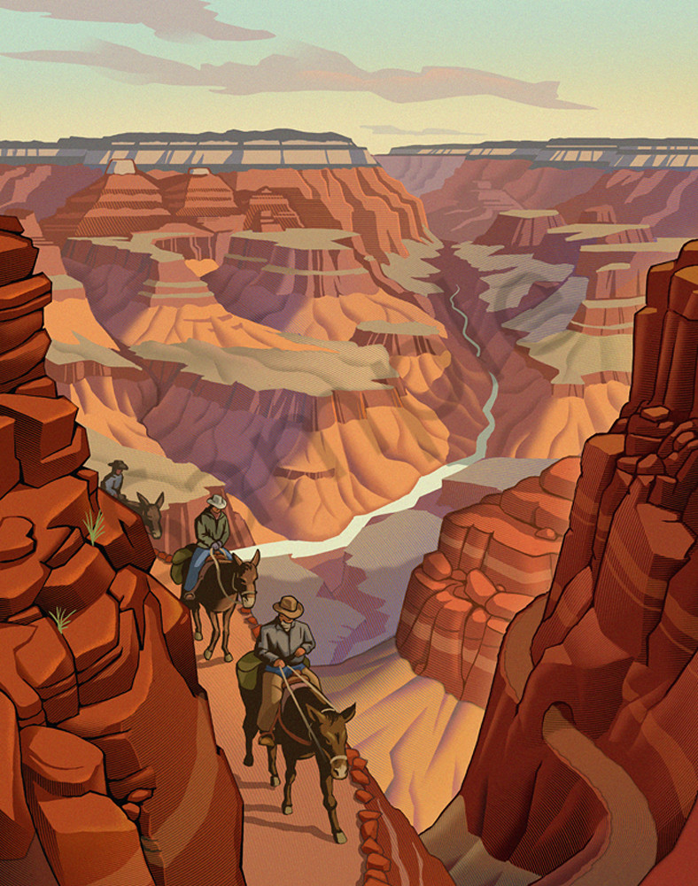 Grand Canyon By Chris Gall