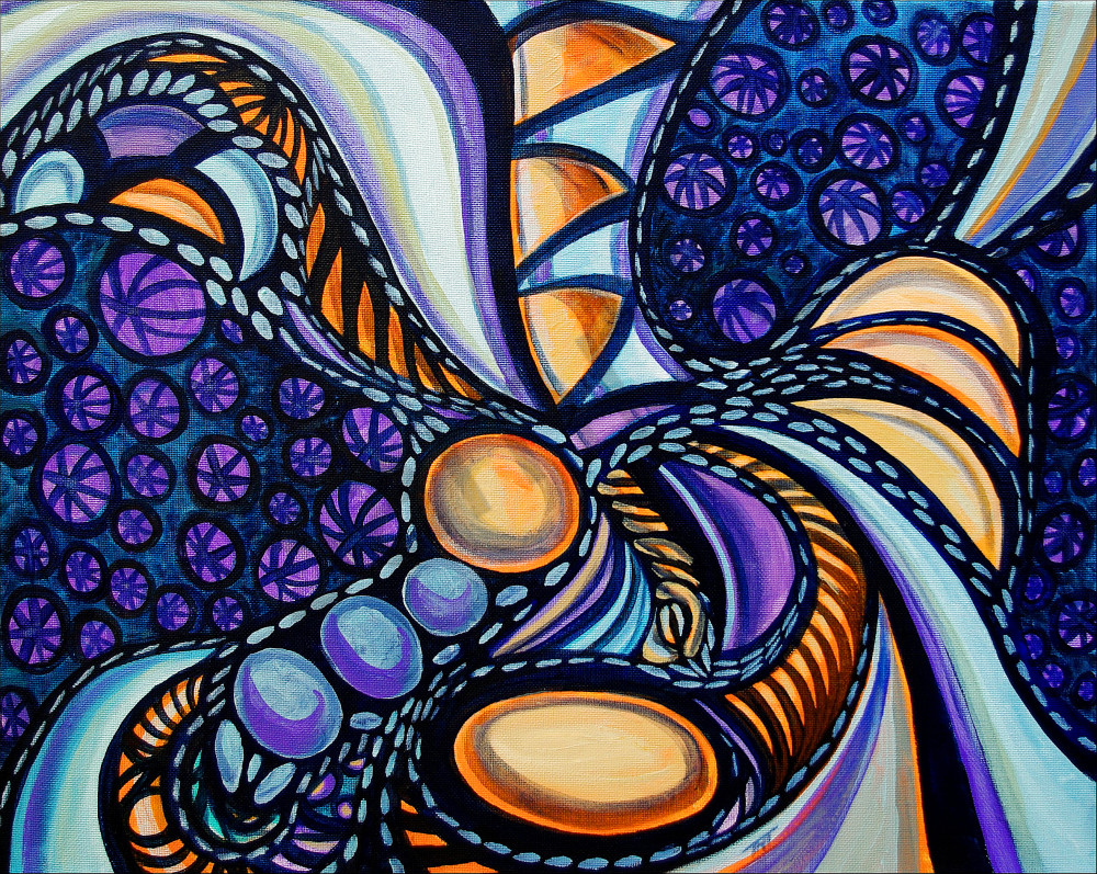abstract painting, alien abstract, native art
