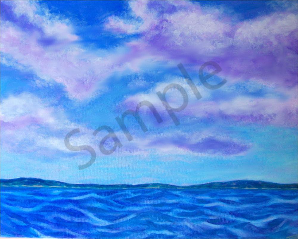 Lavender Skies - Teresa Young