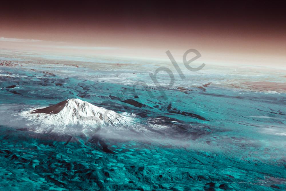 Mt. Ranier, Aerial, Space
