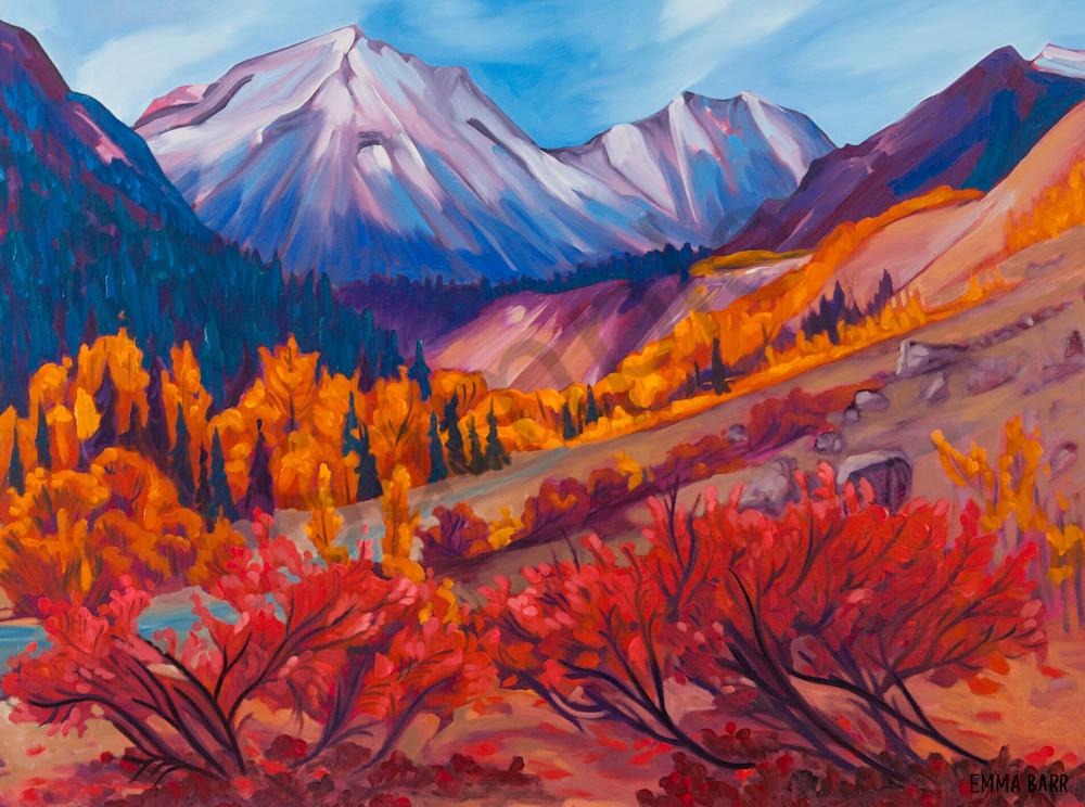 Thunder Egg Creek   Deluxe Canvas Print   Emma Barr Fine Art