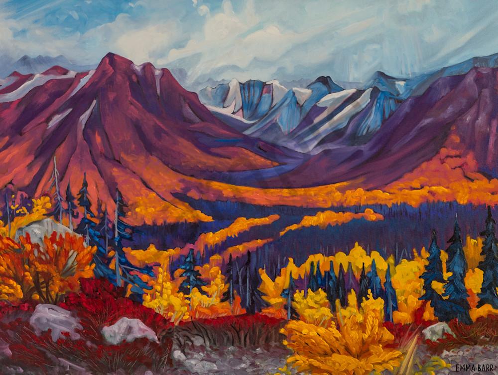 St Elias Mountain Range |  Deluxe Canvas Print |Emma Barr Fine Art