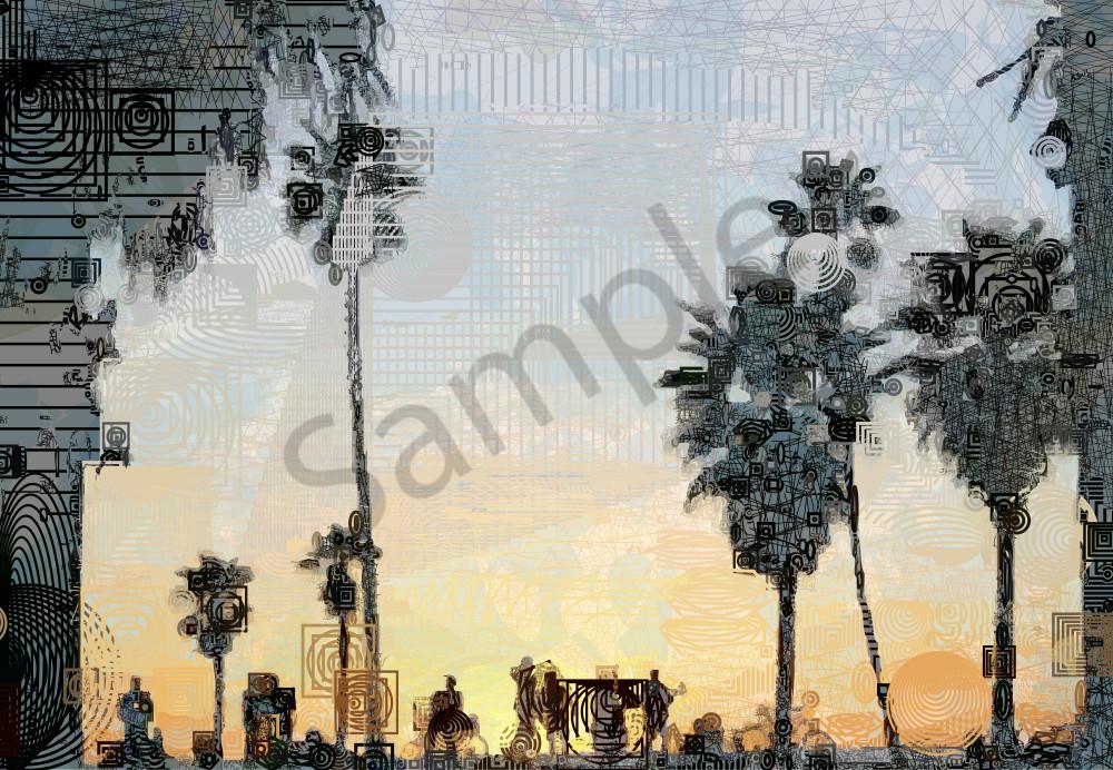 Venice Beach Canvas Art