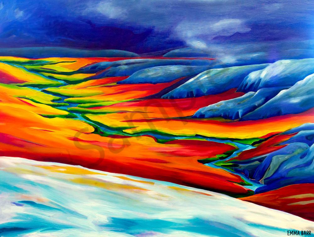 Dempster Highway   Deluxe Canvas Print   Emma Barr Fine Art