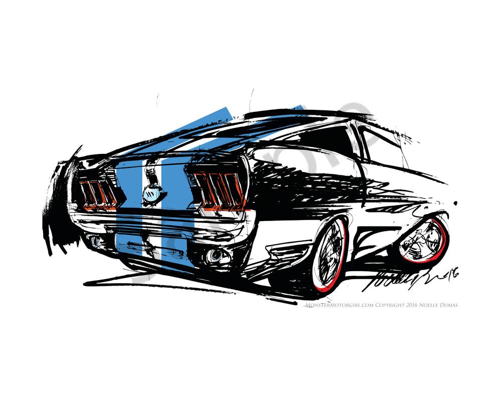 Mustang Fb Blue
