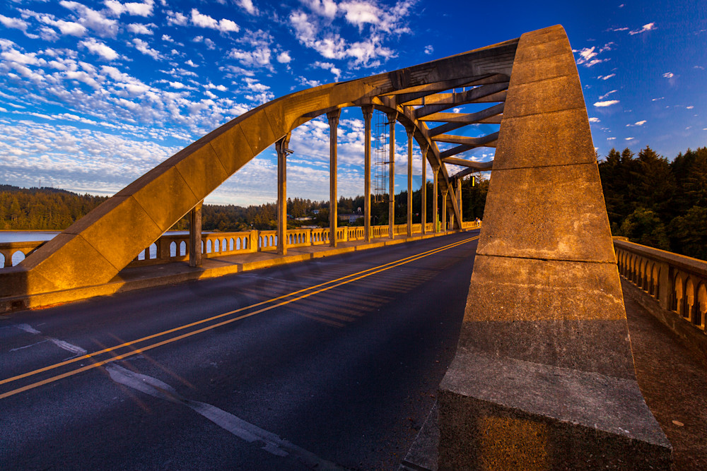 Siuslaw River Bridge, Florence Oregon