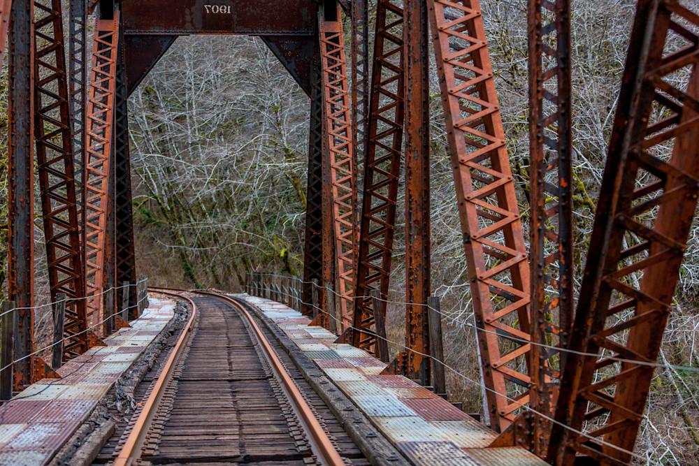Swiss Home Railroad Tracks-9767