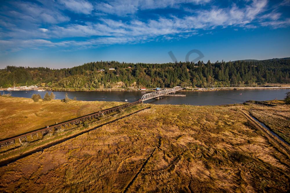 Cushman, Railroad, Crossing, Siuslaw River