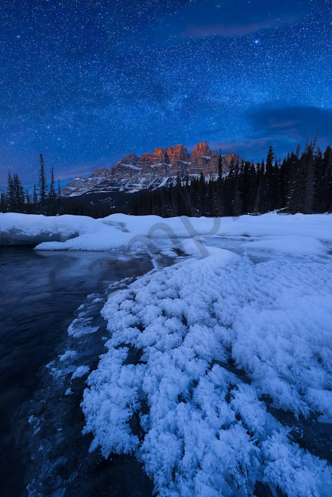 Castle Mountain Milky Way