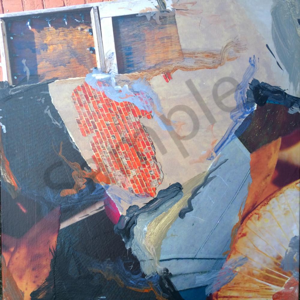 Buy Bricks - High Quality Print of Mixed Media original Dream Scene