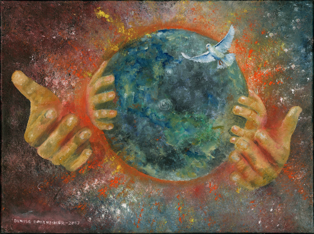 """His Hands"" by Denise Dahlheimer 