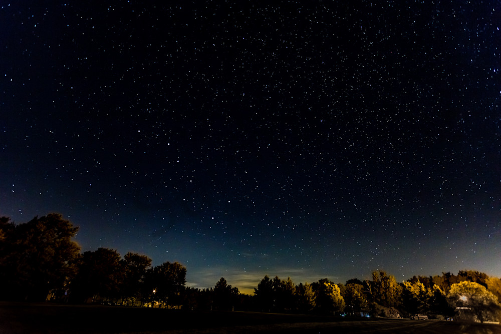 Fifth in Series of Nightscapes of  the Starry Sky