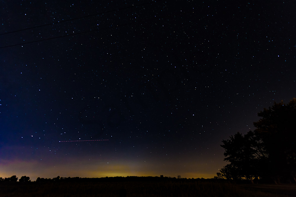 Sixth in a series of nightscapes of the sky in rural Indiana
