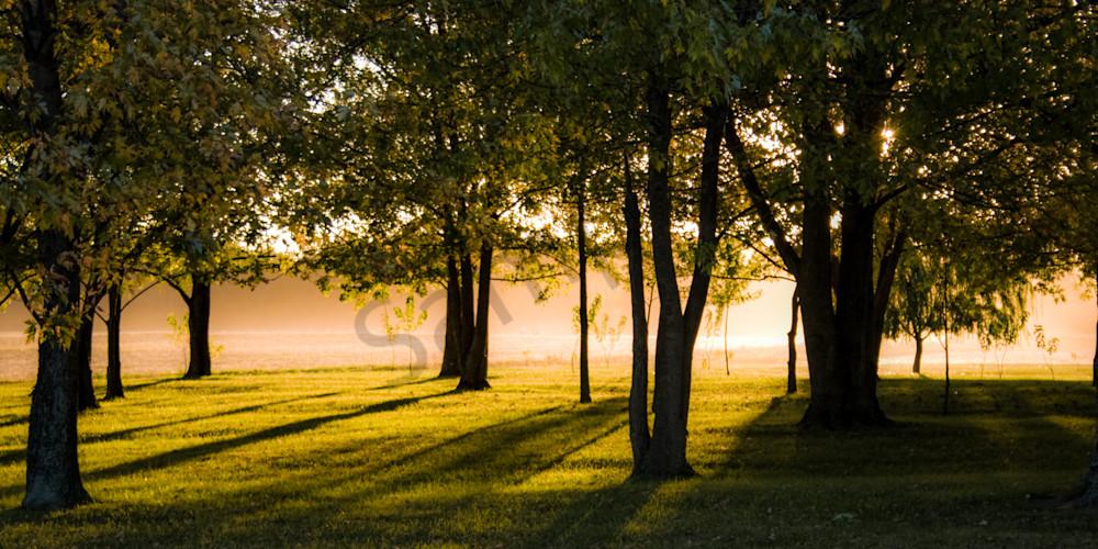 Rural Indiana Sunset Gloam