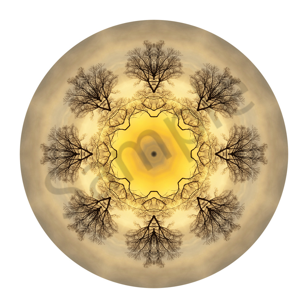 Ethereal Ember for sale as fine art photographic mandala.