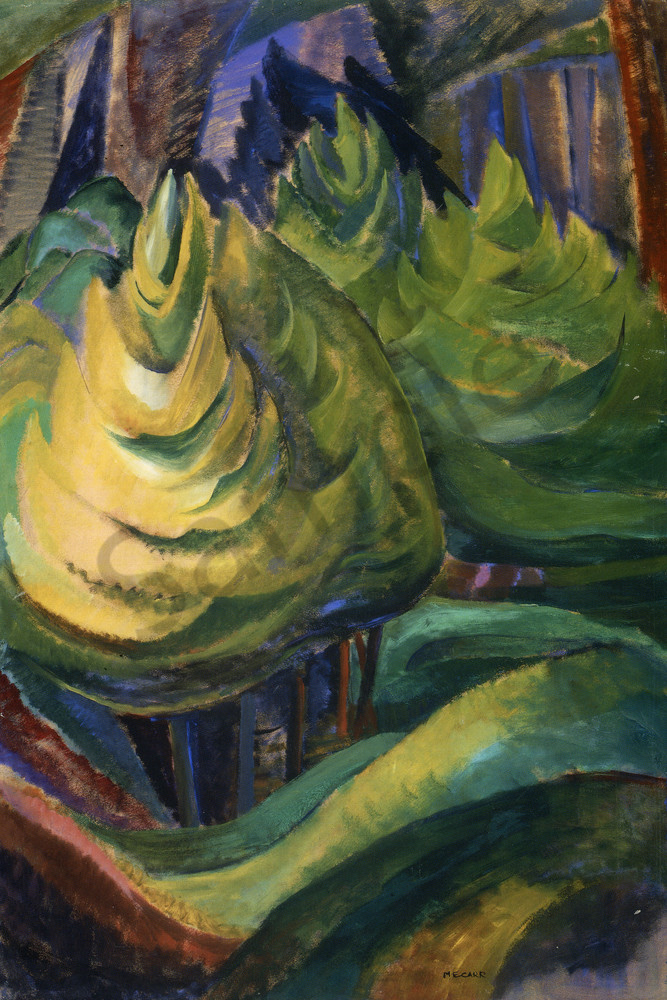 Formalized Tree By Emily Carr