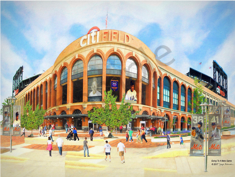 Citi Field Wall Art - The Gallery Wrap Store