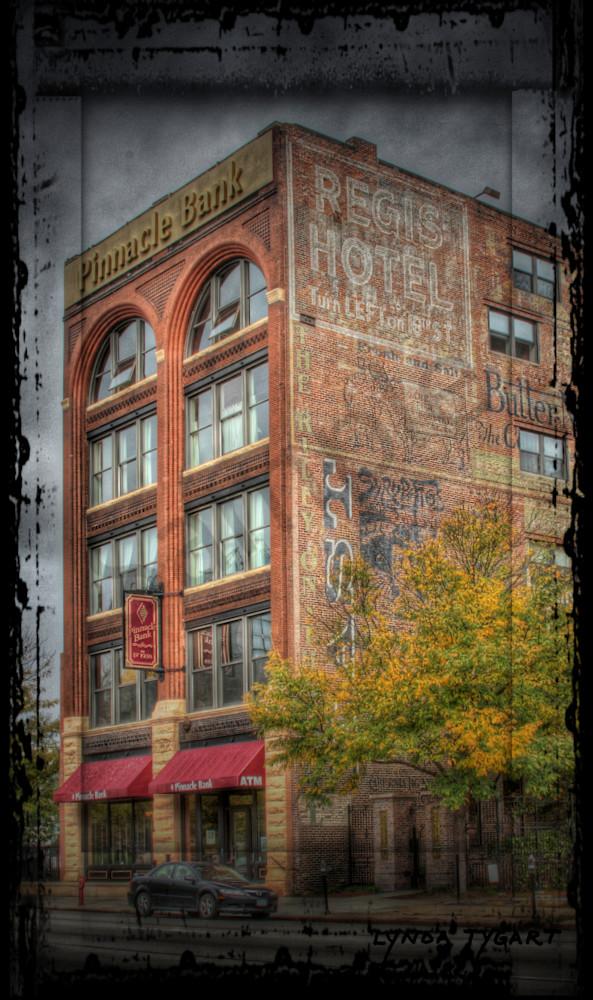 Lynda Tygart Pinnacle Bank Old Market Omaha Nebraska – Fine Art Photographs Prints on Canvas, Paper, Metal and More.