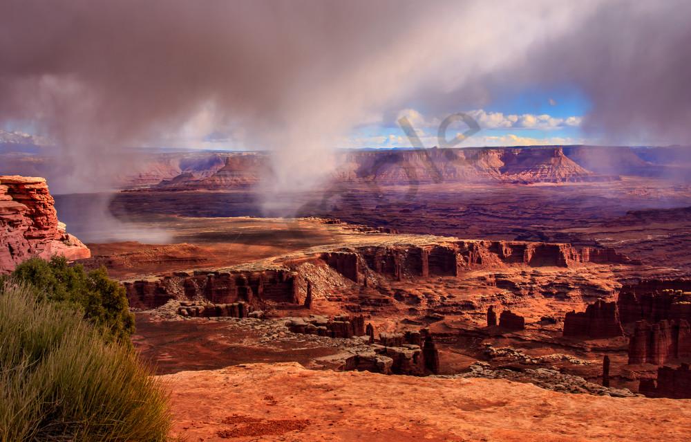 Rainburst Over Canyonlands Photography Art | Mason & Mason Images