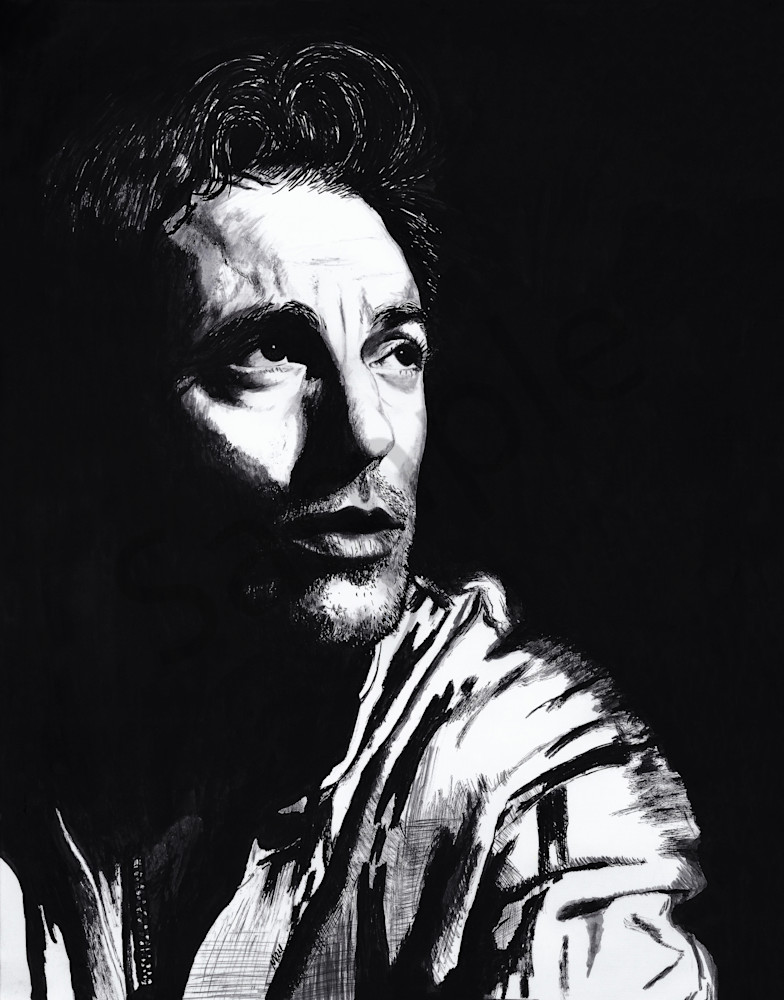 Bruce Springsteen portrait
