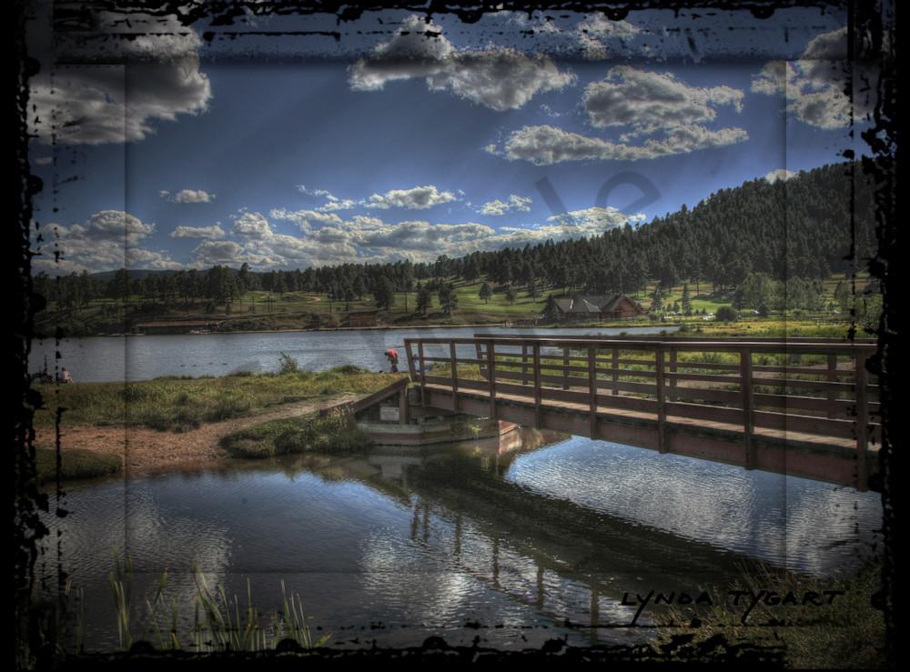 Lynda Tygart Evergreen Colorado Lake near Mountain – Fine Art Photographs Prints on Canvas, Paper, Metal & More.