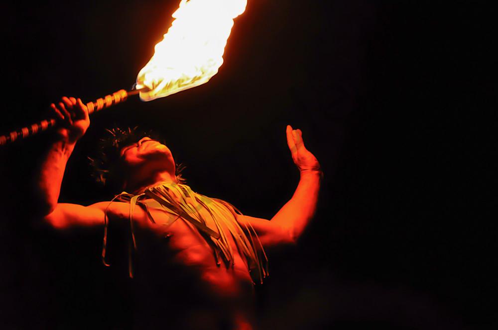 Hawaiian Flame Eater