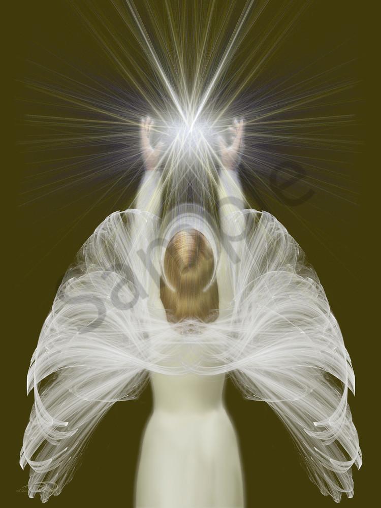 Angel Of Light digital art by Cheri Freund
