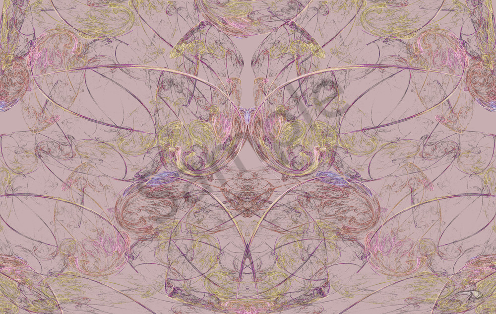 Fem Swirl digital art by Cheri Freund
