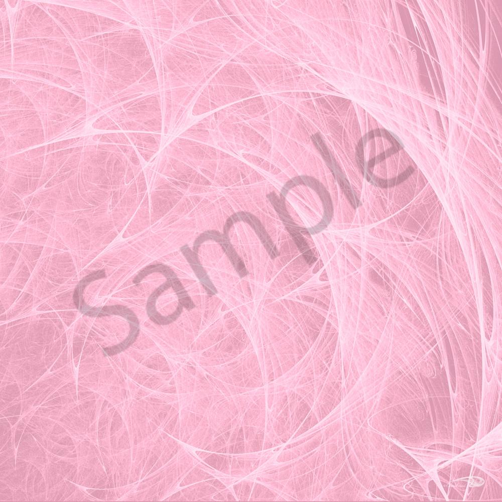 Pink Angel Hair cotton candy digital art by Cheri Freund