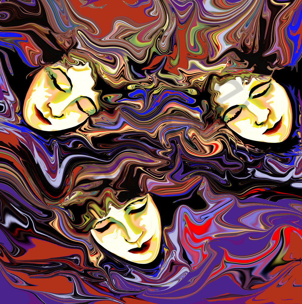 Surrealistic Reflections - The 3 Fates