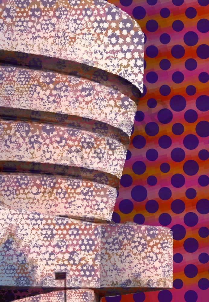Guggenheim art, architecture, prints by Peter McClard  at VectorArtLabs.com