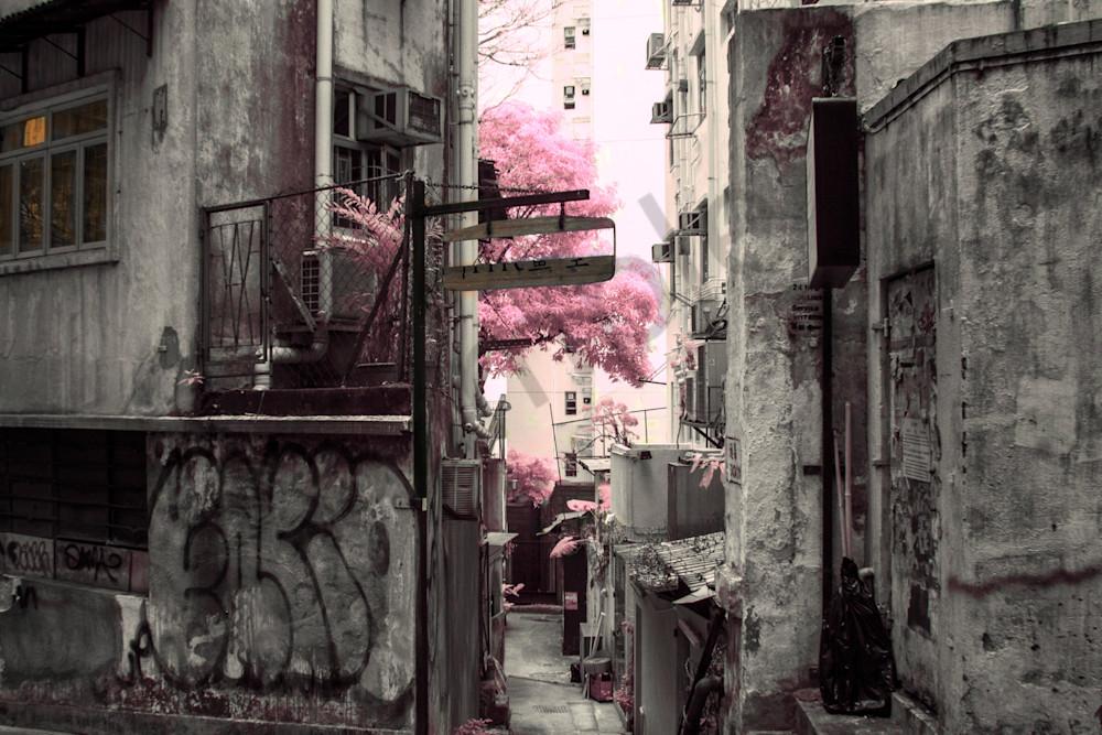 Hong Kong, Alley, Street Art