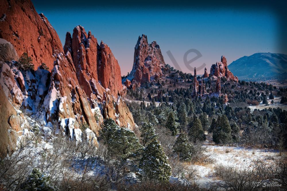 Garden of The Gods Winter Marvel - JP Sullivan Photograpy - fine art photography prints