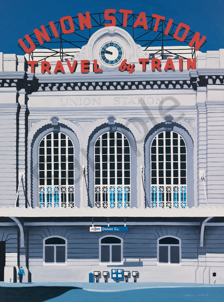 Union Station   Denver, CO   Fine Art Prints & Notecards