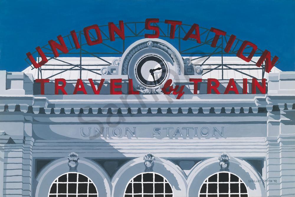 Union Station | Denver, CO | Fine Art Prints on Many Medias