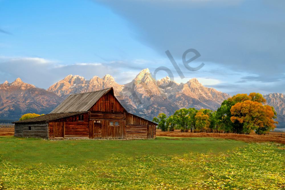 Grand Tetons Sunrise on Mormon Row - JP Sullivan Photography - Art prints