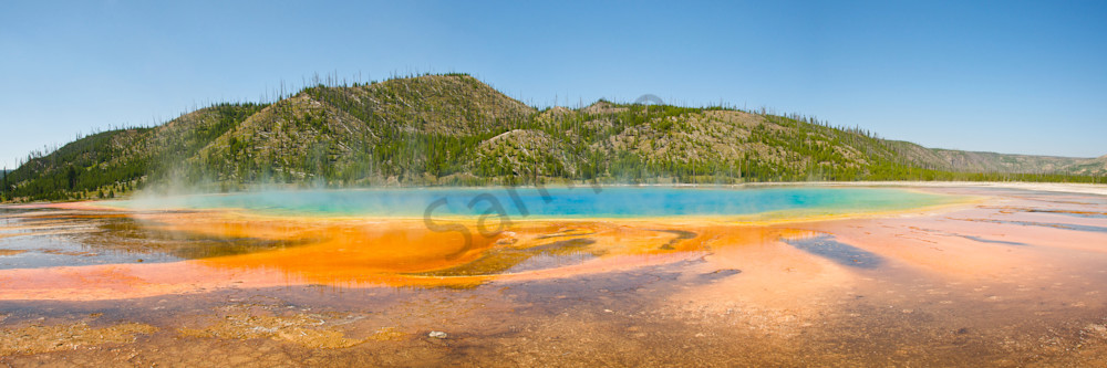 Yellowstone Grand Prismatic Art & Photographs