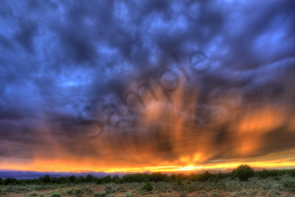 Hamlin Valley Sunset Storm