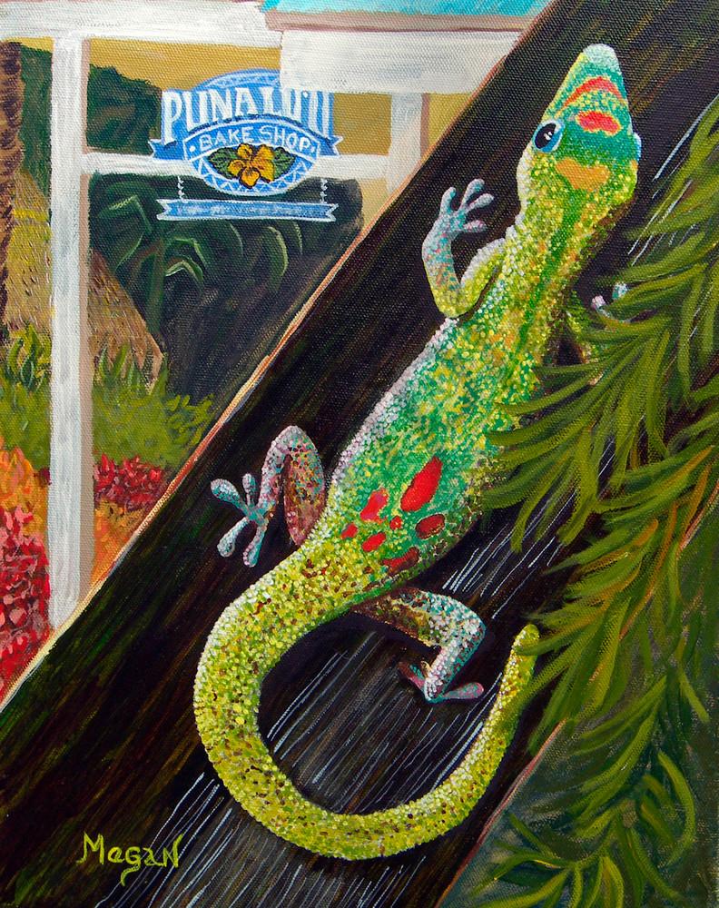 Punalu'u Gecko