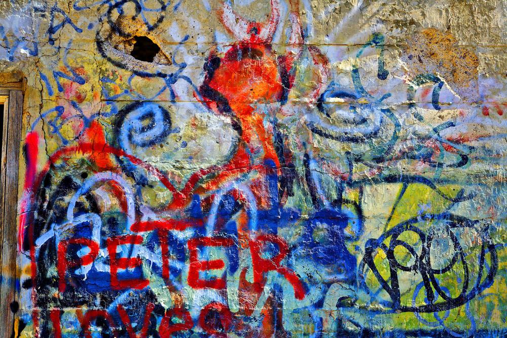 Graffiti at American Flat
