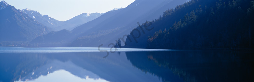 Lake Crescent and the Olympic Mountains