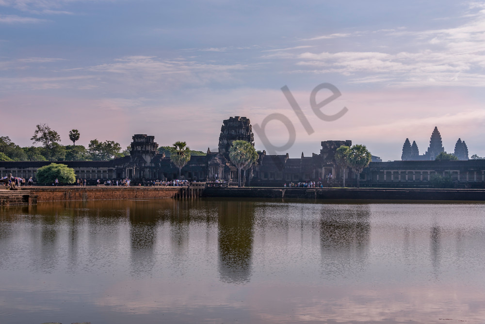 Early Morning Moat | Angkor Wat | Susan J Photography