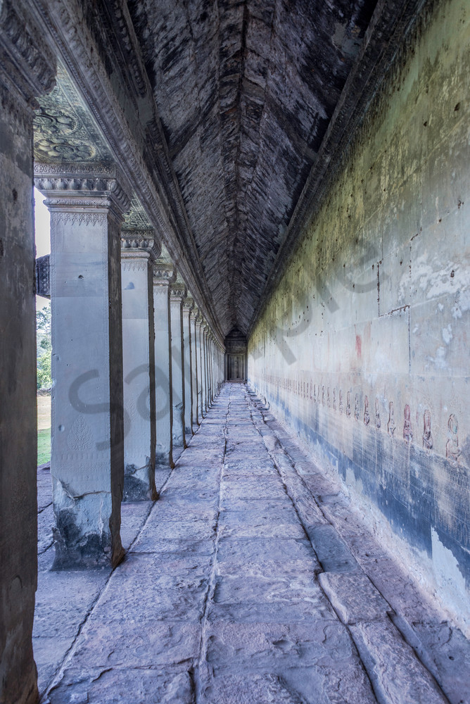 The breezeway | Angkor Wat | Susan J Photography