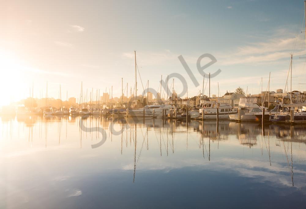 Morning Sun on San Francisco Marina Photo