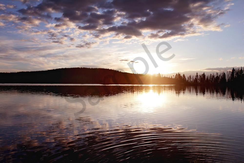 Photograph of Park Lake Sunrise